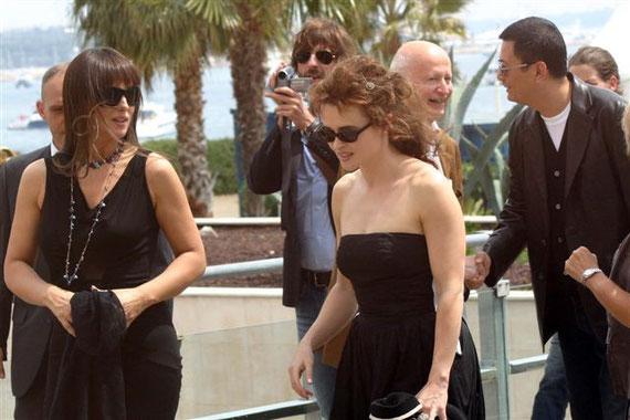 Monica BELLUCCI et Helena BONHAM CARTER - Festival de Cannes 2006  © Anik COUBLE