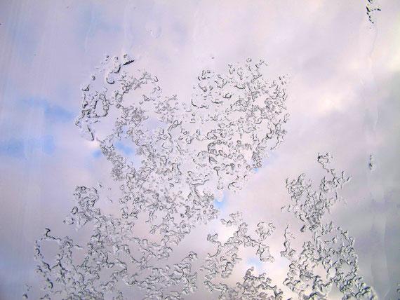 Winter am Dachfenster