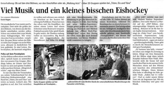 Mannheimer Morgen 10.05.2010
