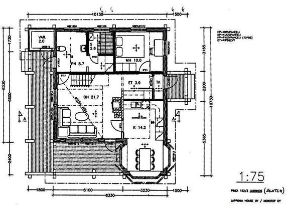 Erdgeschoss. Downstairs