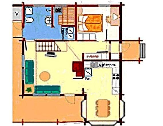 Beispielansicht aus Prospekt der Hausfirma. Example view