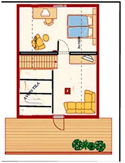 Beispielansicht. aus Prospekt der Hausfirma. Example view