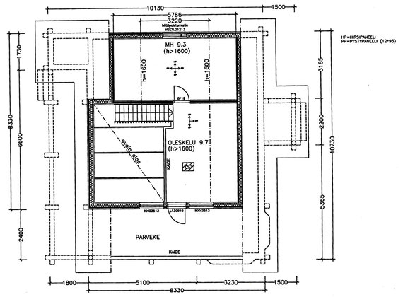 Dachgeschoss / Upstairs