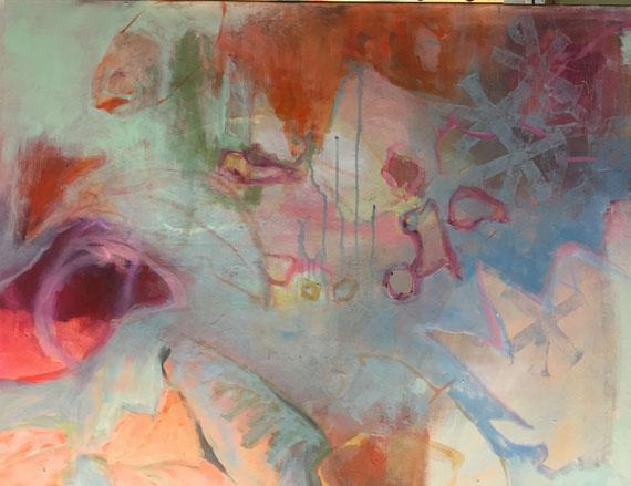 """""""Riff"""" 0,8x1m  Acryl a .Canvas,"""