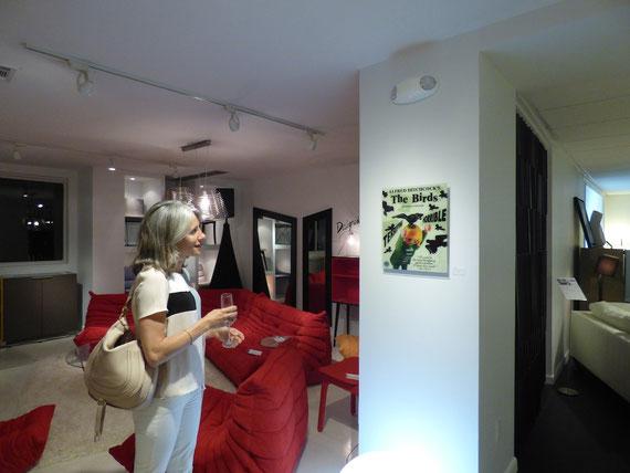 Ligne Roset exhibition