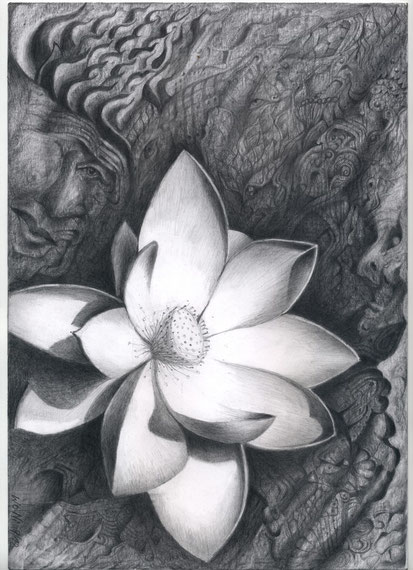 Zenit der Wünsche  30x21 Bleistift  9. 2012
