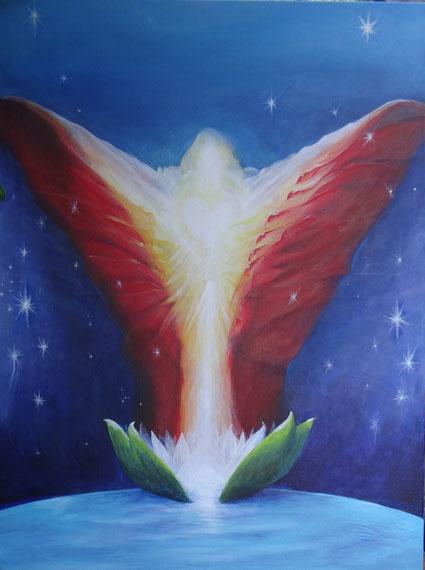 Engel für Heidi Acyl 70 x50 verkauft