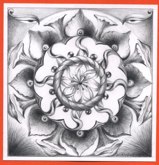 Rad des Werdwens Bleistift 20x20  5.2011