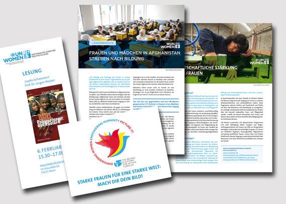 Das Deutsche Komitee für UN Women unterstützt die weltweite Arbeit von UN Women zur Gleichstellung der Geschlechter und Stärkung von Frauen.