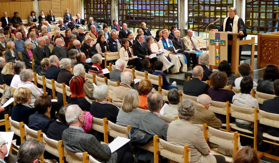 Culte de reconnaissance pour la vie de Dr. Emilio Castro, Centre Oecumenique Genève.