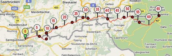 Etape 5 : 65 km