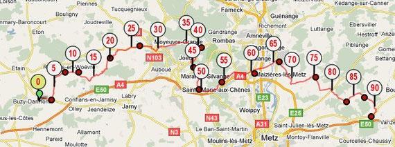 Etape 3 : 90 km