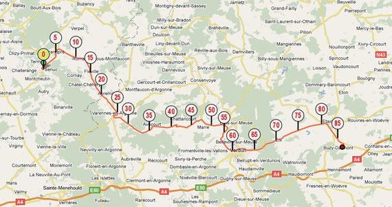 Etape 2 : 87 km