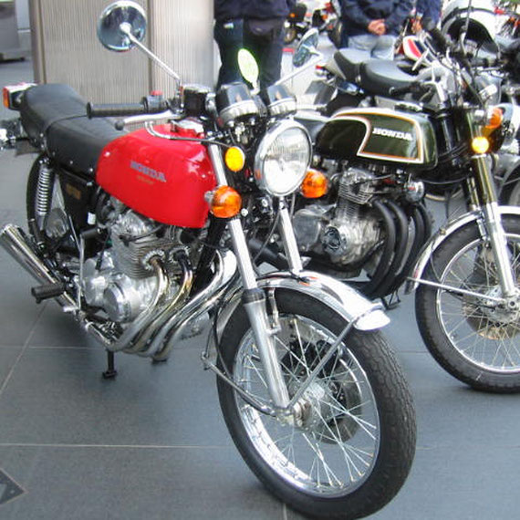 CB400Four これが私のレストアしたバイクです