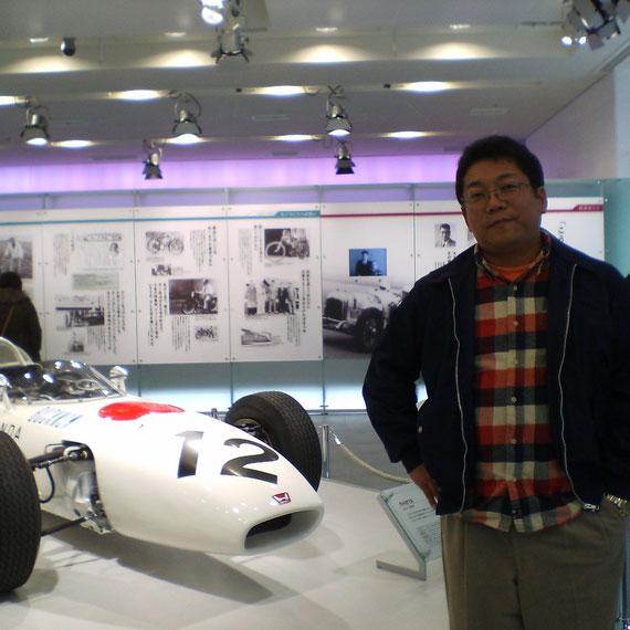 Honda F1 RA272 Ronnie Bucknum Mexico GP 1965 と私