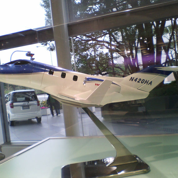 HONDA JETの模型
