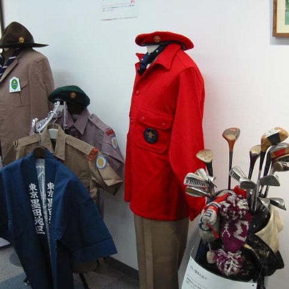 ゴルフ関係の品々