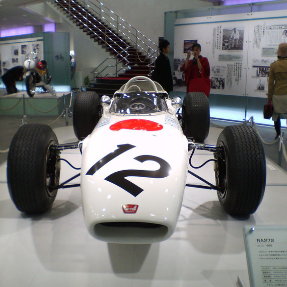 Honda F1 RA272 Ronnie Bucknum Mexico GP 1965