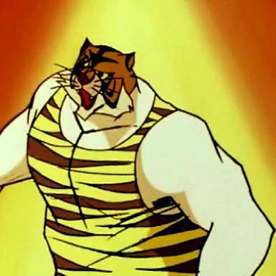 L 39 uomo tigre galleria gli sfidanti di tigerman www for Disegni da colorare uomo tigre