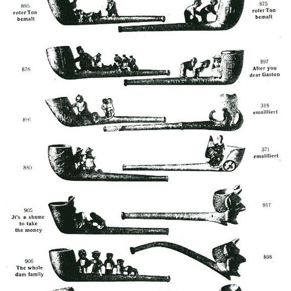 Pagina uit de catalogus van J. Wingerder