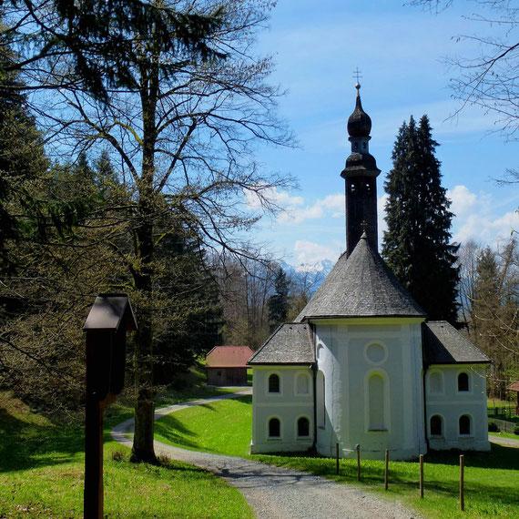 Wallfahrtskirche Kirchwald am Samerberg bei Rosenheim