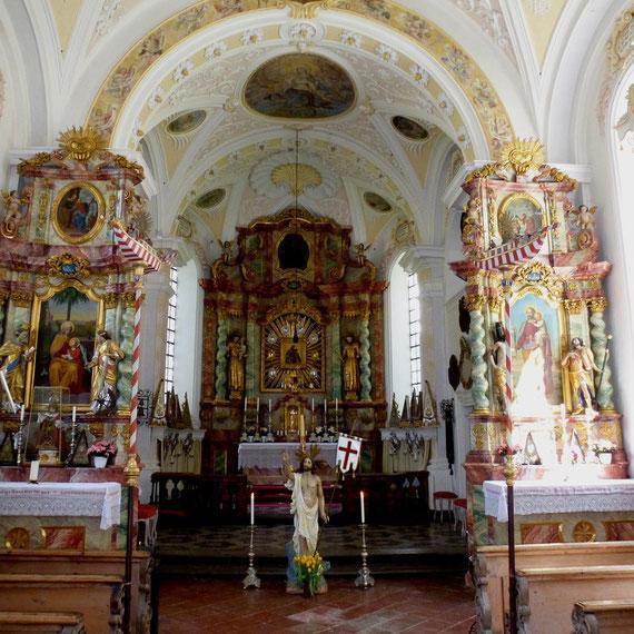 Einsiedelei und Wallfahrtskirche Kirchwald am Samerberg bei Rosenheim