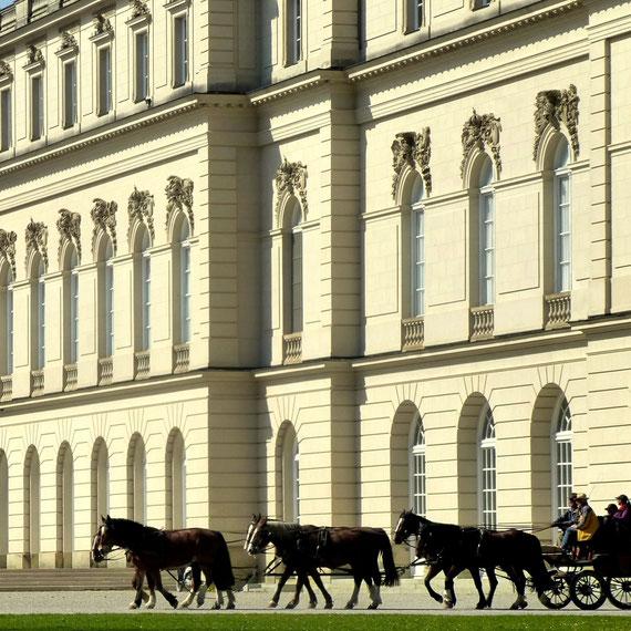 Neues Schloss Herrenchiemsee, das Märchenschloß König Ludwigs II, auch das Alte Schloß ist sehr sehenswert