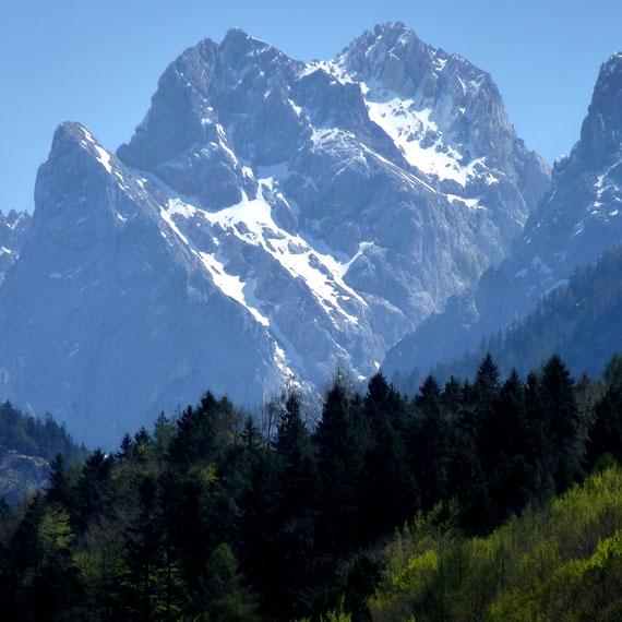 Kaisergebirge - Wilder Kaiser vom Hechsee aus gesehen