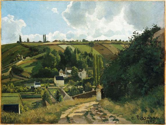 カミーユ・ピサロ《ジャレの丘》1882年
