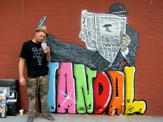 ※2:ニック・ウォーカーと山高帽の紳士「ヴァンダル」