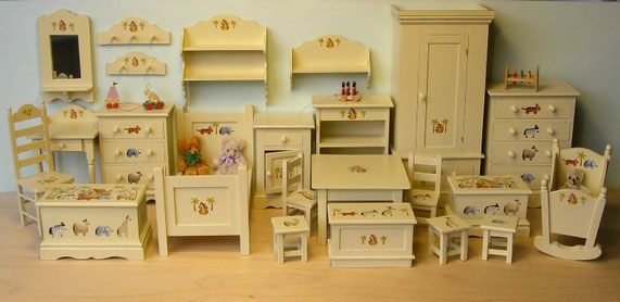 """ Old Noah's Ark"" Nursery Furniture"