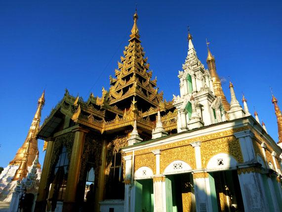 Tempelgelände der Shwedagon