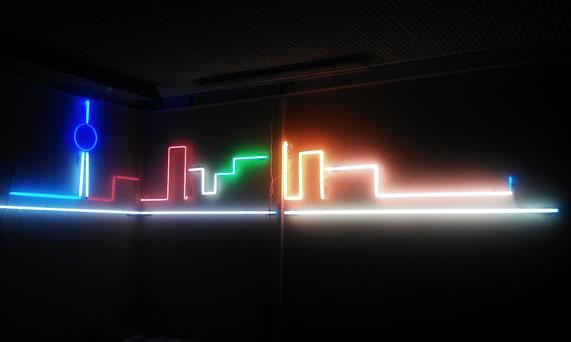 Neon Schrift kaufen // Neon auf Wand
