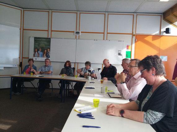 Bild: Teilnehmer der Jahreshauptversammlung beinamputiert was geht e.V.