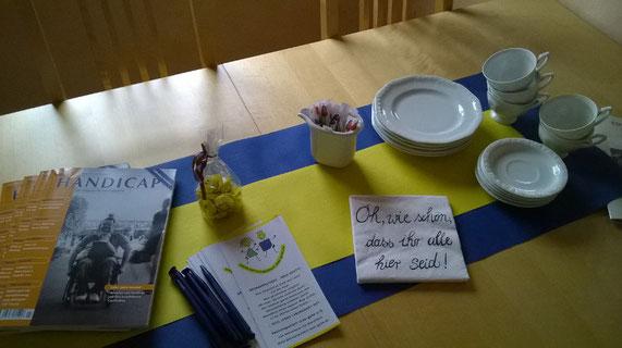 Foto: Begrüßung Treffen im Westerwald