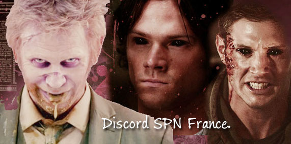 "Serveur Discord ""Supernatural France"""