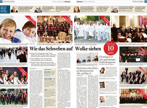 OÖNachrichten, 23.02.2013