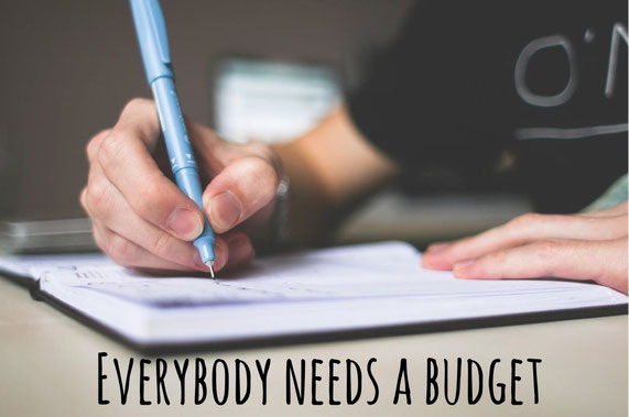 Budget, money, overspending, saving, pay off debt, get organised, money management