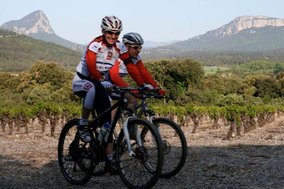 Christel et Rodolphe à la 20ème Ronde de Quintilius, ce paysage me dit quelque chose ???