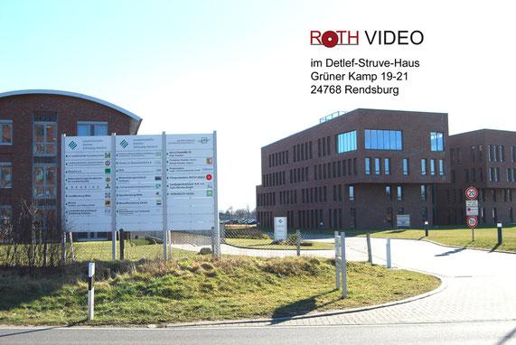 ROTH VIDEO Imagefilm im Detlef-Struve-Haus, Grüner Kamp 19-21, 24768 Rendsburg