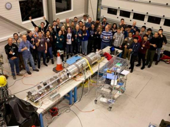 NASAが主導するRocksatロケット国際プロジェクトに参加し、ノルウェーから打ち上げられるロケットに搭載する、オーロラ観測用カメラを開発しました。