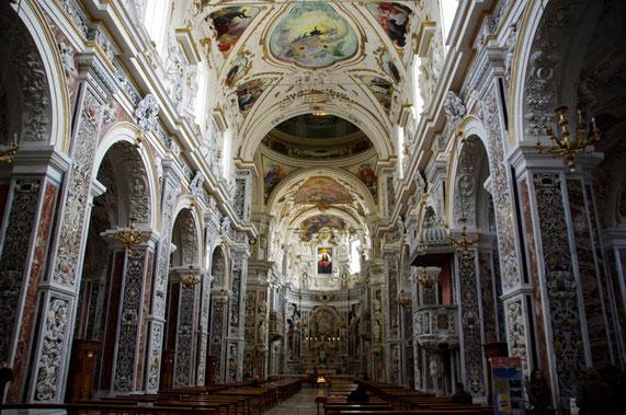 L'église baroque del Gésù