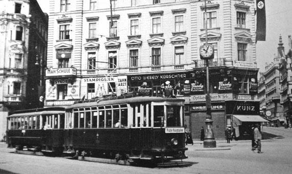1939 Familienwohnhaus und Firmensitz Nussdorferstrasse 21
