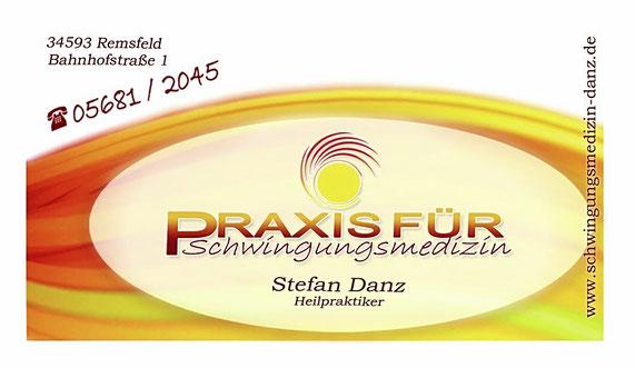 Praxis für Schwingungsmedizin HP Stefan Danz Bioresonanz und Timewaver Technologie