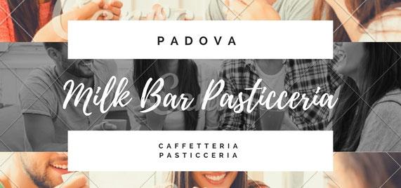 Spritz con buffet, apericena, Padova centro. Milk Bar Pasticceria