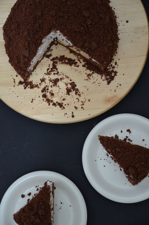 Die Torte lässt sich hervorragend im Kühlschrank aufbewahren oder auch einfrieren. Nur für den Fall, dass ein Stück Torte ausreichend ist.