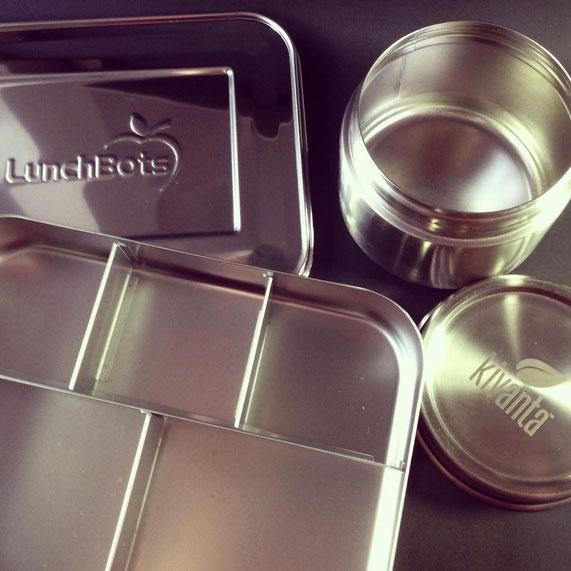Herzlichen Dank an Kivanta für dieses tolle Probe-/Einsteigerpaket mit einer Bentobox und großen Aufbewahrungsdose aus Edelstahl.