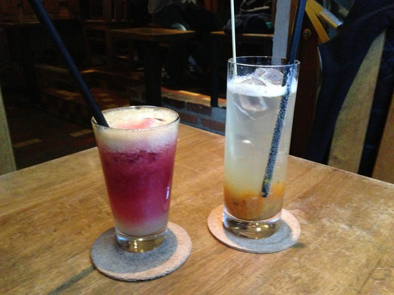 Birne-Blutorangen-Saft & Kumquat-Sternanis-Limonade
