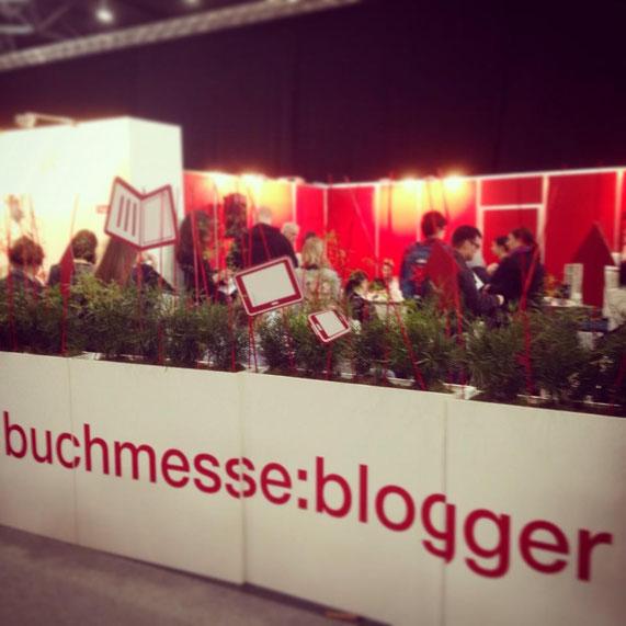 Die gemütliche Bloggerlounge: Neu auf der Leipziger Buchmesse.