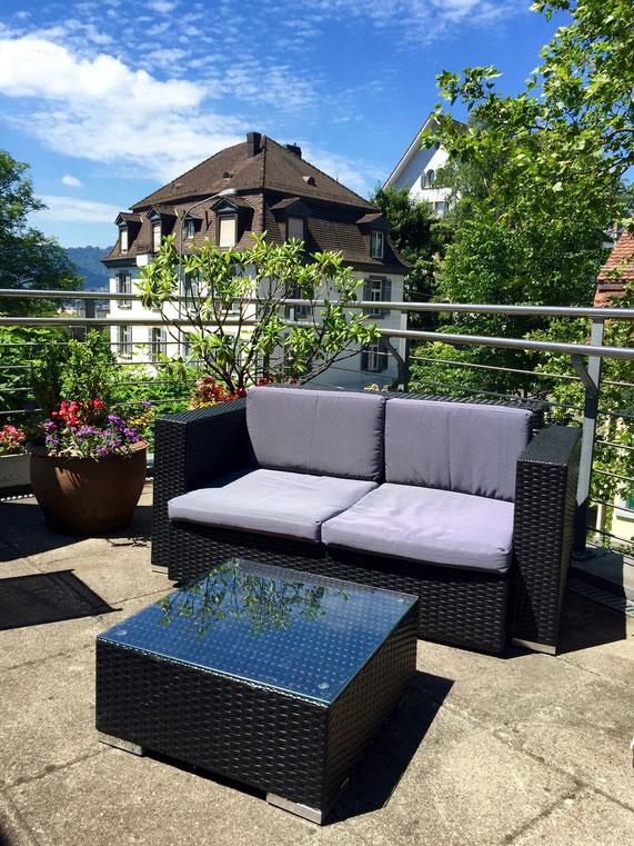 Dachterrasse alters und pflegeresidenz bellevue im dolder quartier - Wintergarten ffb ...